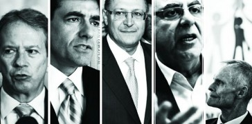 Voorwald, Jardim,  Aparecido, Alckmin e  Nogueira
